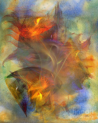 J R Beck Digital Art - Autumn Ablaze by John Robert Beck
