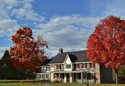 Photograph - Autumn Abode by JAMART Photography