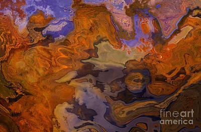 Autumn Abstract 1 Art Print