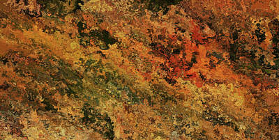 Painting - Autumn Abstract 12 by Dan Sproul