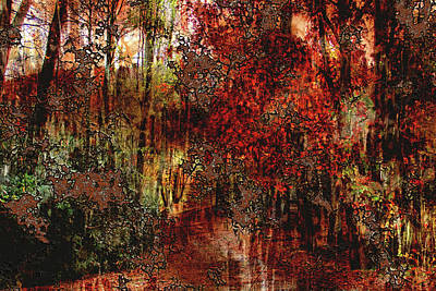 Photograph - Autumn Abstract by HH Photography of Florida