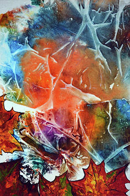 Painting - Autumn Abstract by Jakub DK