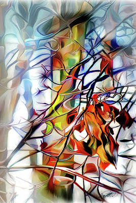 Digital Art - Autumn Abstract by Pachek