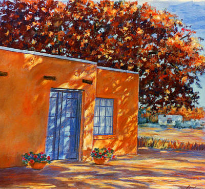 Painting - Autumn Afternoon by Ann Peck