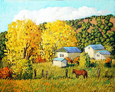 Painting - Autumn Afternoon by Donna Clair