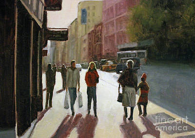 Painting - Autumn Afternoon by Tate Hamilton