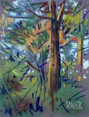 Autumn Again Art Print by Donald Maier
