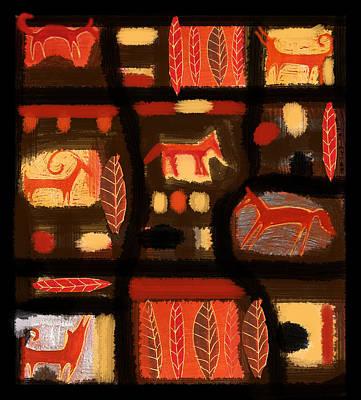 Autumn Art Print by Aliza Souleyeva-Alexander