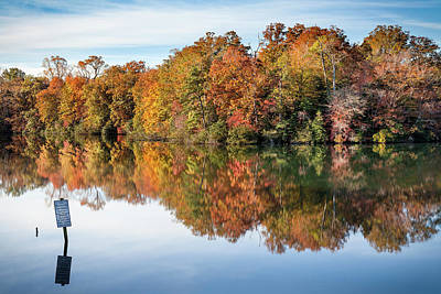 Photograph - Autumn Along The Parkway by Lisa McStamp