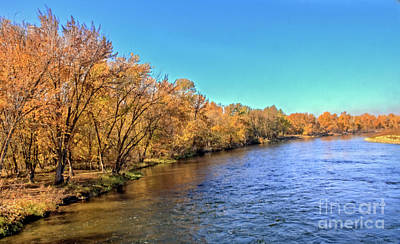 Photograph - Autumn Along The Payette River by Robert Bales