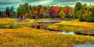 Kitchen Mark Rogan - Autumn Along the River by David Patterson