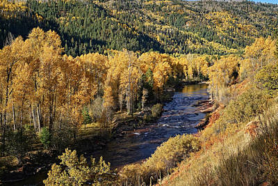 Photograph - Autumn Along The River I by Leda Robertson