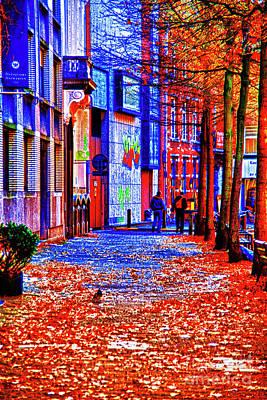 Photograph - Autumn Amsterdam by Rick Bragan