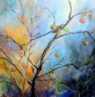 Painting - Autumn Apple Tree by Jodie Marie Anne Richardson Traugott          aka jm-ART