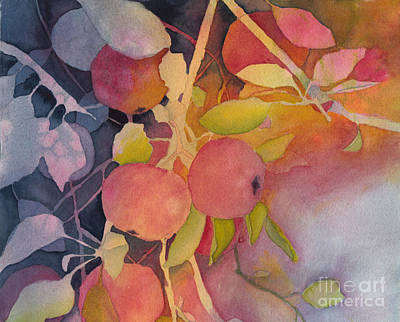 Painting - Autumn Apples by Conni Schaftenaar