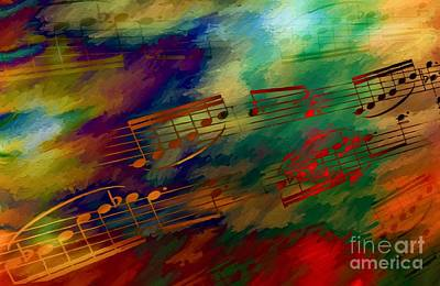 Digital Art - Autumn Arabesque by Lon Chaffin