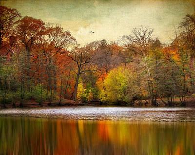 Autumn Pond Photograph - Autumn Arises 2 by Jessica Jenney