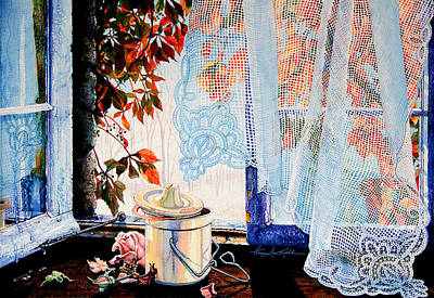 Crocks Painting - Autumn Aromas by Hanne Lore Koehler