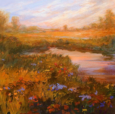Painting - Autumn Arrives by Jan Blencowe