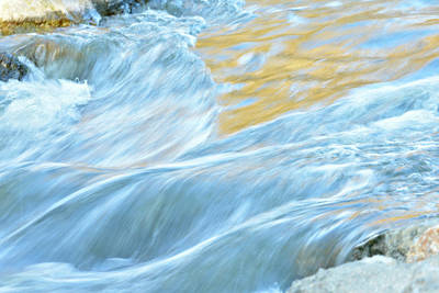 Photograph - The Flow 2 by Fraida Gutovich