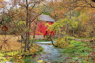 Photograph - Autumn At Alley Mill by Jennifer White