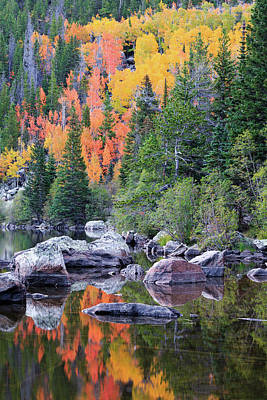 Photograph - Autumn At Bear Lake by David Chandler