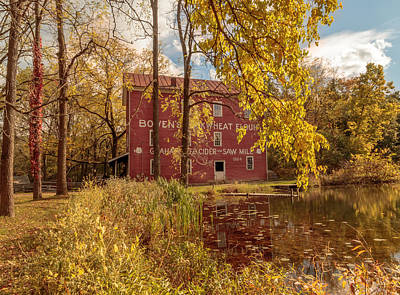 Photograph - Autumn At Bowens Mills by Susan Rissi Tregoning