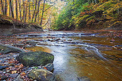 Amish Photograph - Autumn At Brandywine Creek by Marcia Colelli
