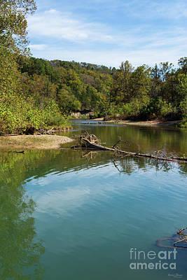 Photograph - Autumn At Bryant Creek by Jennifer White
