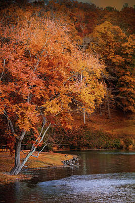 Photograph - Autumn At Chickasaw Lake by Jai Johnson