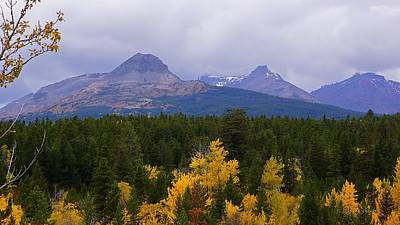 Photograph - Autumn At Dancing Woman Mountain by Tracey Vivar