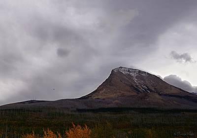 Photograph - Autumn At Divide Mountain, Rainstorm by Tracey Vivar
