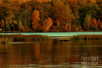Photograph - Autumn At Foote Pond by Matthew Winn