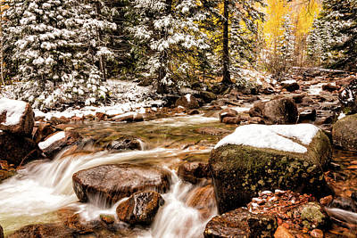 Photograph - Autumn At Gore Creek 3 - Vail Colorado by Brian Harig