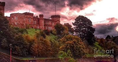 Photograph - Autumn At Inverness Castle 2 by Joan-Violet Stretch