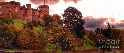 Photograph - Autumn At Inverness Castle by Joan-Violet Stretch