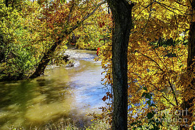 Photograph - Autumn At James River Bend by Jennifer White