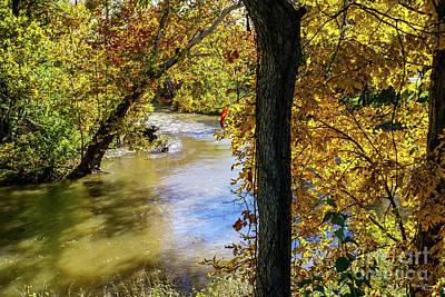 Photograph - Autumn At James River Bend by Jennifer White