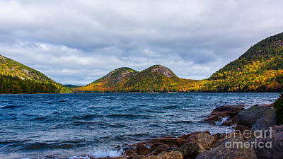 Photograph - Autumn At Jordan Pond by New England Photography