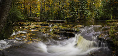 Photograph - Autumn At Laughing Whitefish Falls by Owen Weber