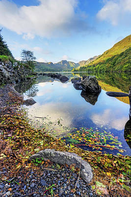 Photograph - Autumn At Llyn Crafnant by Ian Mitchell