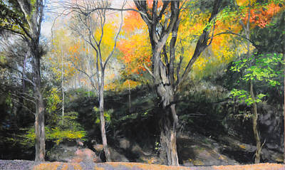 Painting - Autumn At Loggerheads by Harry Robertson