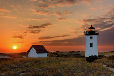 Photograph - Autumn At Long Point by Michael Blanchette