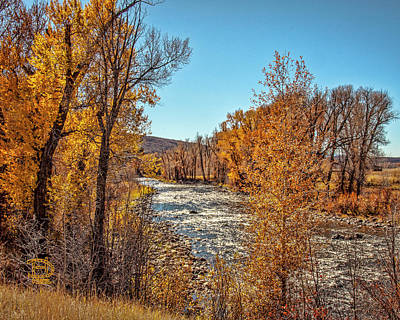 Photograph - Autumn At Lower Mad Creek by Daniel Hebard