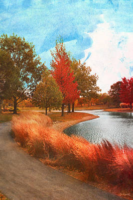 Photograph - Autumn At Mcbride Arboretum by Shawna Rowe