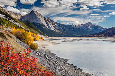 Photograph - Autumn At Medicine Lake by Pierre Leclerc Photography