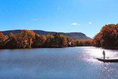 Photograph - Autumn At Nashawannuck Pond by Sven Kielhorn