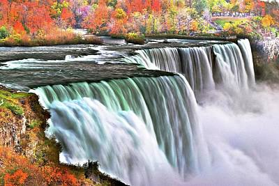 Photograph - Autumn At Niagara by Frozen in Time Fine Art Photography