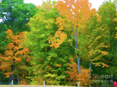 Autumn At Olana 2 Art Print by Lanjee Chee