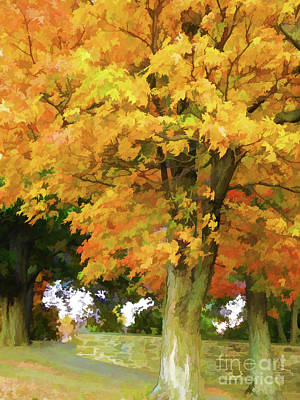 Autumn At Olana 5 Art Print by Lanjee Chee